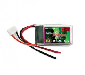 GP650SL3S GigaPower 11.1V 650mAh 3cell
