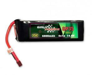 GP6800CP4S GigaPower 14.8V 6800mAh 4Cell 35C