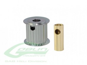 PULLEY  Z 20 6/8 MM HOLE H0175-20-S