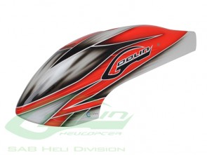 CANOPY RED/WHITE H0271-S