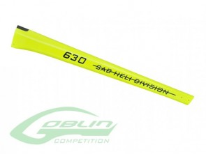 TAIL BOOM G630 CO YELLOW H0363-S