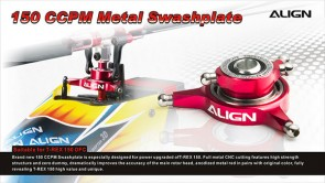 H15H009AX 150 DFC NEW CCPM Metal Swashplate