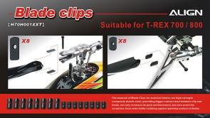 H70H001XX 700-800 Blade Clips