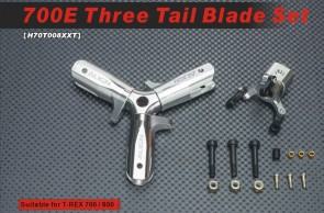 H70T008XX 700E Three Tail Blade Set