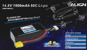 HBP15003 4S1P 14.8V 1500mAh/50C