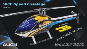HF5018 500E Speed Fuselage – Blue & White
