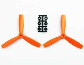 HQProp 5X4,5X3 CW ORANGE (pack of 2)