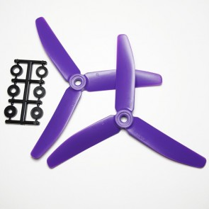 HQProp 5X4X3 CCW PURPLE (pack of 2)