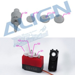 HSP15001 DS150/155 Servo Gear Set