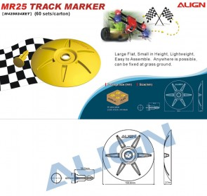 MR25 Track Marker - Yellow