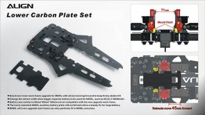 M480036XX M690L Lower Carbon Plate Set