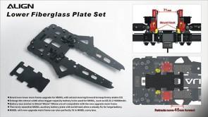 M480037XX M690L Lower Fiberglass Plate Set