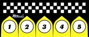 START PADS FOR RACING CLASS 75X170CM