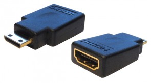 Female HDMI To Male MINI HDMI Adapter Changer