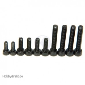 PN0134 CRANKCASE SCREWS SET