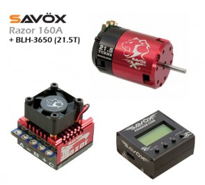 ESC (RAZOR 160A) + PROG. CARD + BLH-3650 (21.5T)
