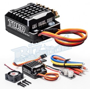 SK-300062-02 Toro TS 120A ESC for 1/10th Scale Sensored ESC Black