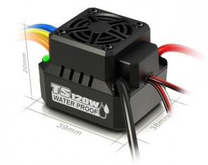 SK-300065-01 SKYRC TS120A WaterProof Brushless Sensorless ESC 1:10 Buggy Truggy