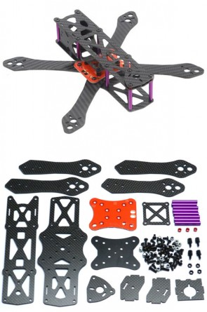 REPTILE Martian 190mm Racing Quad Frame + Power distr. Board