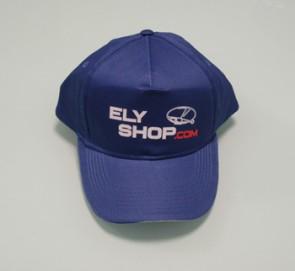 CAP09 Cappellino eco stampato Elyshop colore Blu