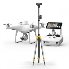 DJI Phantom 4 RTK + Stazione Mobile D-RTK 2 + PC GS PRO