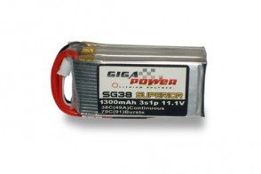GP1300SG3S 11.1V 1300mAh 3cell 38C - 70C