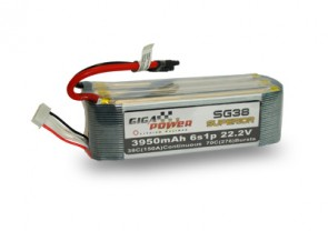GP3950SG6S 22.2V 3950mAh 6Cell 38C - 70C