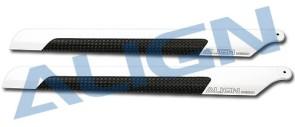 HD200B 205D Carbon Fiber Blades (OLDH25072T)