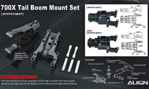 700X Tail Boom Mount Set