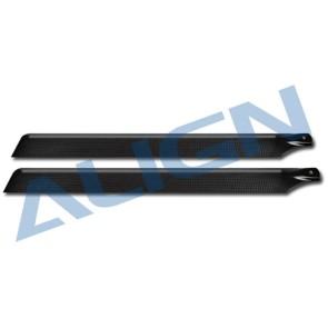HD420K 425 Carbon Fiber Blades-Black