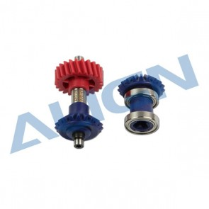 HE1G005XX Torque Tube Front Drive Gear Set 19T/M1.25