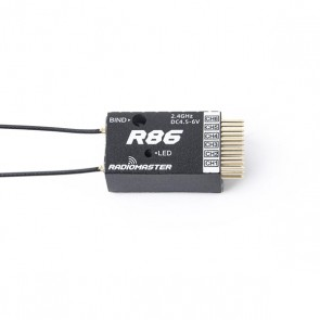 RadioMaster - R86 6ch Frsky D8 Compatible PWM Receiver