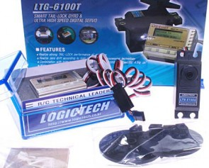 Gyro Logictech con servo 6100G LTG-6100