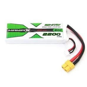 ManiaX 7.4V 2200mAh 30C Lipo XT60