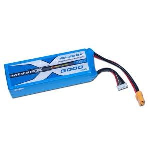 ManiaX Power LiPo 6S 5000mAh 22.2V serie eXpert 45C