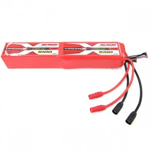ManiaX 44.4V 5100mAh 70C Lipo Battery Pack