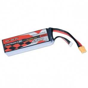 ManiaX Power LiPo 6S 5500mAh 22.2V serie eXtreme 55C