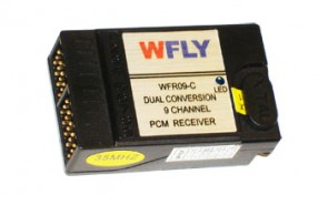 WFly Receiver 9ch PCM 40MHZ WFRX09-40