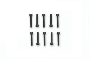 10 Viti M2,5x20mm Testa Cilindrica Cava Esagonale SCR2520