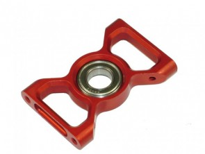 TXD-02-R TREX 600 Upper Mainshaft Bearing Block RED