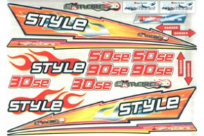 decals Style  50    90 STY0366S