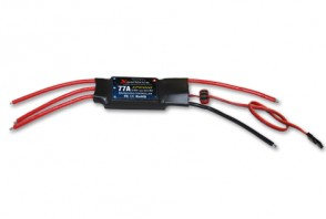 Brushless ESC Withn BEC 77A cont. 6cell XPE010