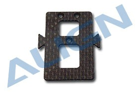 HS1123-00 CF Battery Mounting Plate  BLACK HS1123-00
