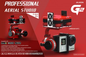 RGG201X Align G2 Gimbal per GoPro