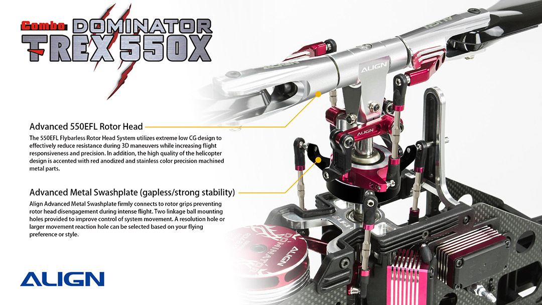 T-REX 550X Dominator Super Combo