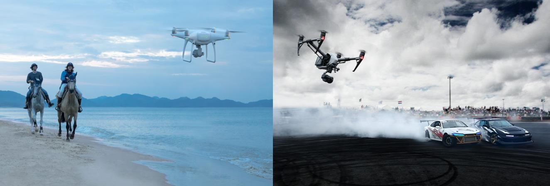 Phantom-4 Pro vs Inspire-2