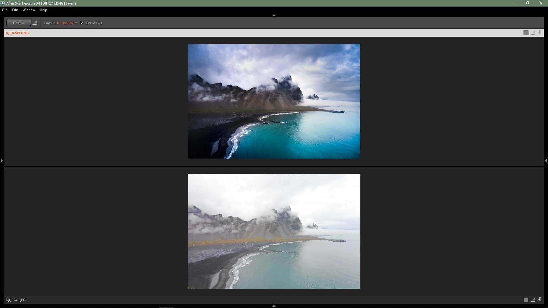 Fotografia paesaggistica con DJI Mavic 2 Pro